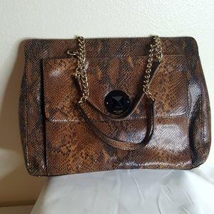 Kate Spade snake skin print leather purse